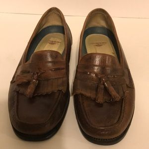 Dockers brown tassel loafers 12 M